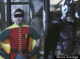 Dark Knight meets 60s Robin