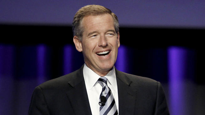 Newsman Brian Williams version of Bust a Move