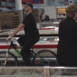 Guy Rides Bike Through Costco